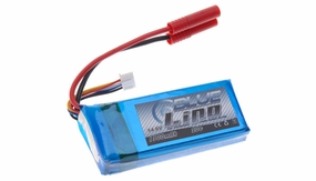 Blue Lipo 4-Cell 1300mAh 4S1P 14.8v 20C RC Battery