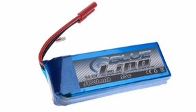 Blue Lipo 4-Cell 5000mAh 14.8v 4S1P 25C RC Battery