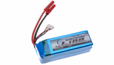 Blue Lipo 5-Cell 2200mAh 5S1P 18.5v 30C RC Battery