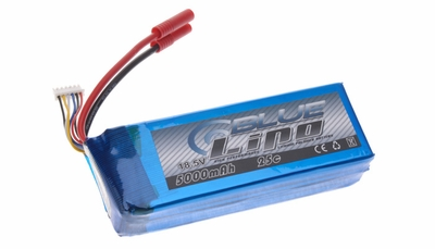 Blue Lipo 5-Cell 5000mAh 18.5v 25C 5S1P RC Battery