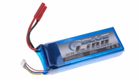 Blue Lipo 6-Cell 3000mAh 22.2v 6S1P 20C RC Battery w/ 4.0 Banana Connector