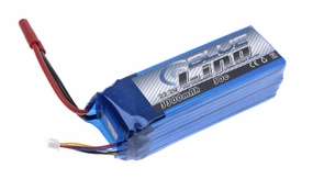 Blue Lipo 6-Cell 3300mAh 22.2v 6S1P 30C RC Battery w/ 4.0 Banana Connector