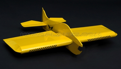 Brand New 4 Channel Sunday 22� 3D Aerobatic Scale Remote Control Plane Kit Version