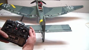 Building the AirField 1400mm Stuka by Jeff