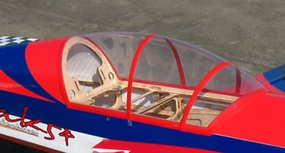 "Canopy for Yak 81"" ARF-Parts_90A183W-Yak50CC-CANOPY"