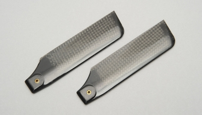 Carbon Fiber Tail Blade for  RC Helicopter (107mm)