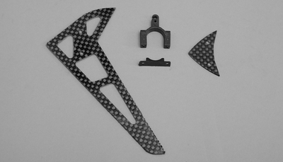 Carbon Fiber tail blade set
