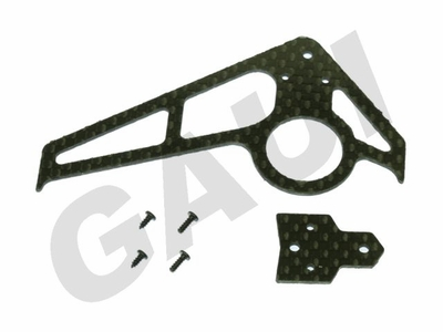 CF Fin & Tail(A Type)-Black