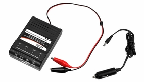 Esky Battery Charger for 3.7V to 14.8V Li-Poly Lipo Batteries with Car Adapter EK2-0852