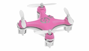 Cheerson CX-10 Micro Quadcopter Ready to Fly 2.4ghz (Purple) RC Remote Control Radio