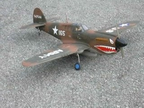 China Model Productions CMP 50 sized P-40 Warhawk