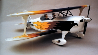 "Christen Eagle 120 - 61"" ARF Radio Remote Controlled RC Bi-Wing BiPlane"