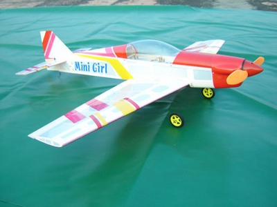 CLEARANCE SALE!!! 3CH Mini Girl ARF Brushless Powered Electric Radio Remote Control RC Airplane