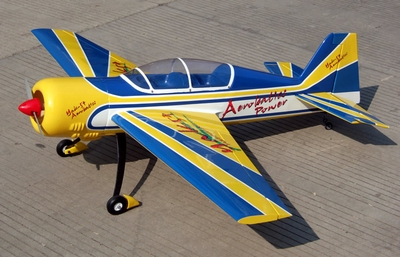 CLEARANCE SALE!!! Yak-54 50 Nitro Model's Radio Remote Controlled Nitro Gas RC Airplane ARF Plane