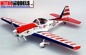 "CMP Super Chipmunk 40 - 57.5"" Scale Nitro Gas Radio Remote Control Airplane"