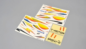 Colorful decals And self-adhesive paper 02P-VenusPart-08106-Decals-Yellow