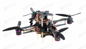 CR4-230 QuadCopter w/ MWC Board Brushless Motor, 12A ESC ARF (Black)