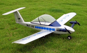 Cri Cri 4-Channel ARF Electric Radio Remote Controlled Twin Engine Jet Aircraft Almost-Ready-to-Fly