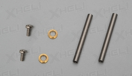 Cross axle/Stepped rings/Screws
