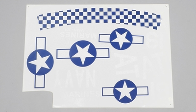 Decal (Blue) 95A702-24-Decal-Blue