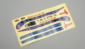 decal (White) for SkyBus 60P-SKYB-009