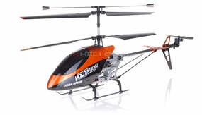 "Double Horse 26"" 9053 Newest 3 Channel Outdoor Volitation Metal RC Helicopter w/ Built in Gyro RC Remote Control Radio"