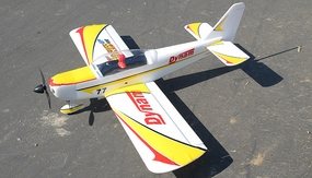 Dynam 4-CH Focus 400-EP Brushless Electric Aerobatics 3D RC Remote Control Airplane RTF 2.4Ghz (Yellow)