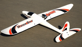 Dynam 4-CH Hawk Sky 1370MM Electric Brushless RC Airplane Glider 2.4G RTF