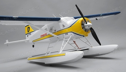Dynam 4 Ch RC Airplane DHC-2 RTF 1500mm Wingspan Seaplane