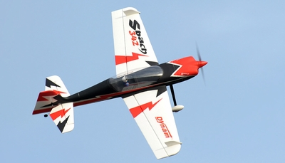 Dynam 4-CH Sbach 342 Aerobatic RC Plane 1250mm ARF RC Remote Control Radio