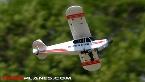 Dynam 4-CH Super J3 Cub PA-18 1070MM Brushless Radio Remote COntrol Scale Trainer RC Plane 2.4G RTF