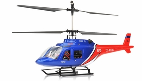 Dynam 4 Channel Jet Ranger 370 RTF 2.4Ghz  RC Helicopter RC Remote Control Radio