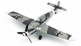 Dynam 5-CH Messerschmitt BF109 Brushless Radio Remote Control RC Warbird Plane w/ Scale Retracts 2.4G RTF RC Remote Control Radio