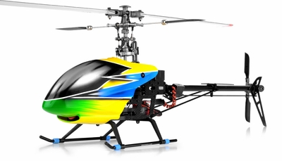 Dynam 6-Ch  Carbon Fiber E-Razor 450-3D Metal RC Helicopter ARF Brushless Motor+ESC RC Remote Control Radio