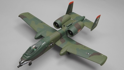 Dynam A-10 Thunderbolt II Twin 64mm EDF RC Jet with Retracts 2.4G RC 5 Channel Ready to Fly 1080mm Wingspan (Green)