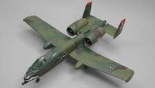 Dynam A-10 Thunderbolt II Twin 64mm EDF RC Jet with Retracts RC 5 Channel  Almost Ready to Fly 1080mm Wingspan (Green)