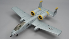 Dynam A-10 Thunderbolt II Twin 64mm EDF Jet with Retracts RC 5 Channel Almost Ready to Fly 1080mm Wingspan (Grey)