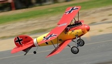 Dynam Albatros 4-CH Remote Controlled RC Bi-Plane 1270mm Fighter Aircraft 2.4gHz Ready to Fly