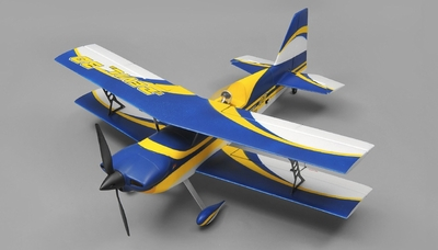 Dynam Devil 4 Channel  3D Sport Aerobatic Bi-Plane Almost Ready to Fly  1016mm Wingspan