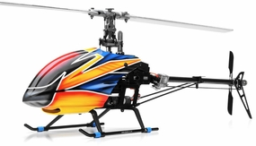 Dynam E-Razor 450 Flybarless Carbon 2.4ghz Ready to Fly RC 6 Channel Helicopter