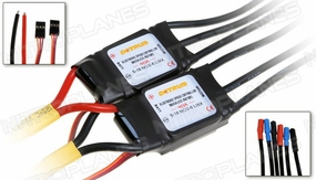 Dynam Electric Speed Control for Twin Engine Airplane 40A ESC x 2 60P-DYE-40A-x-2-ESC