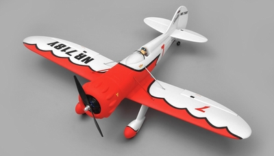 Dynam GeeBee 4 Channel Sport Aerobatic Plane Almost Ready to Fly 1270mm Wingspan RC Remote Control Radio