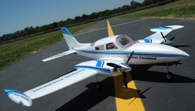 Dynam Grand Cruiser Twin Engine  Brushless Motor/ESC ARF Receiver-Ready Airplane w/ E- Retract