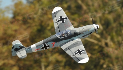 Dynam Messerschmitt BF109 5 Channel Warbird with Retracts ARF