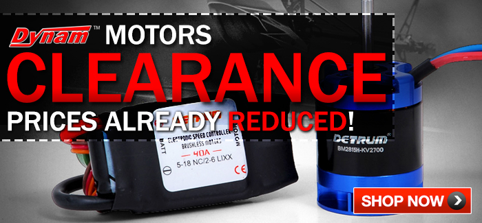 Dynam Motors & Combos Clearance Sale - Prices Already Reduced!