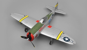 Dynam P47 Thunderbolt 5-Channel 2.4Ghz Ready-to-Fly 1220mm RC Warbird Plane RC Remote Control Radio