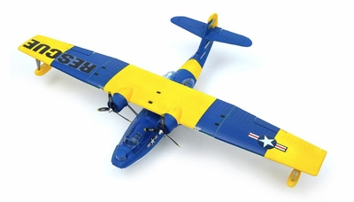 Dynam PBY Catalina 4 Ch 1470mm Brushless Motor/ESC ARF (Blue) RC Remote Control Radio