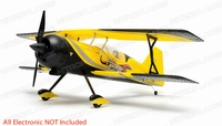 "Dynam Peaks 42"" RC 4 Channel 3D Bi-Plane Kit (Yellow)"