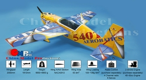 Edge 540T 40cc~50cc GAS ENGINE POWER AEROBATIC AIRCRAFT