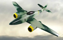 Electric 3-CH ME-262 R/C Twin-Engine Ducted Radio Remote Controlled RC Airplane
